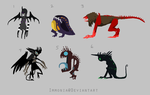 Dark Adopts 3 [Point Option Included!] by Adopt-Monstar