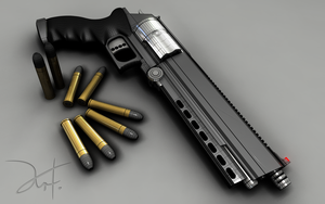 Revolver Finished Wireframe by The-5