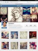Join me on Instagram at AlvinLeeArt! by alvinlee