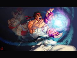 25 years of Hadouken by omegaseraphx
