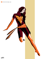 Phoenix (X-Men) by FeydRautha81