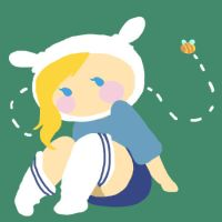 Fionna and the bee by LumiPop