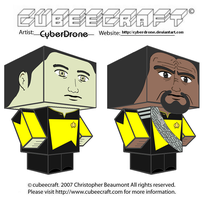 Cubeecraft - Data and Worf by CyberDrone