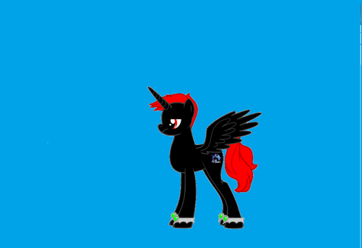 Juria Pony 1st draft. by Juria316