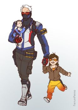 Dad 76 by FerrumPenna