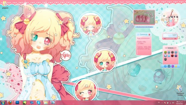I'm back! my computer is fixed! :'D by Rinashu