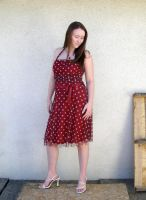 me red dress 2 by PhoeebStock