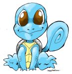 Pokemon Number 7: Squirtle by Kenji-Seay