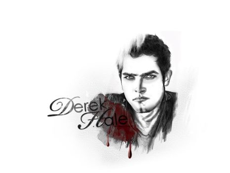 Derek Hale by LightLovely