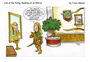 Pretty Elves- Rpg Comic by travisJhanson