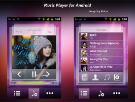 Music Player for Android by kidcvs