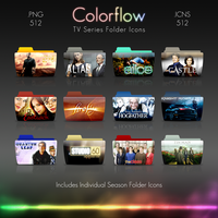 Colorflow TV Folder Icons 6 by Crazyfool16