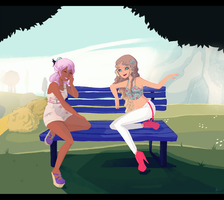 [K] Chit Chat by fiorei
