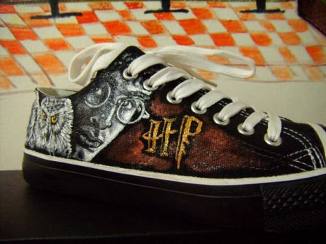 Harry Potter Hand painted by alcat2021