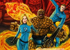 Fantastic Four by Ulderix