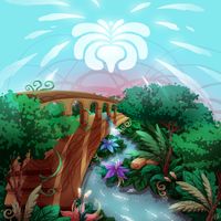 Land of Logic and Flora by GreenMangos