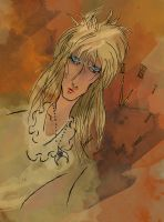 The Goblin King (Labyrinth) by SmudgeThistle