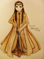 Elrond - Lord of Rivendell by xMissPanda