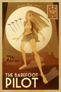 The Barefoot Pilot by betakruger