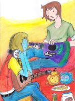 Bit and Lupe: Jam Sessions by AnAdminNamedPaul
