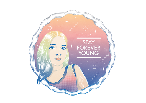STAY FOREVER YOUNG by mygrayness