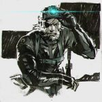 Metal Gear Solid V: Ground Zeroes by KR0NPR1NZ