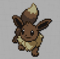 #133 Eevee by PkmnMc