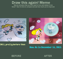 Draw It Again Meme- Trapped In A Bubble by Brashgirl901