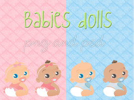 Babies dolls by malueditions