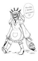 Just A Little Maid by AOBAN