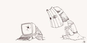 Wasting time searching the web by vijamoga