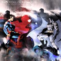Superman Vs Batman by P13Darksight
