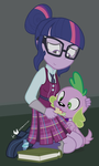 At Least I Still Got You, Spike by dm29