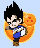 Vegeta by strawberryquiche