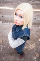 Android 18 by cloeth