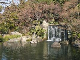 Japan Waterfall by PRkid93