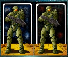 Master Chief by Kar123 by ChibiCelina