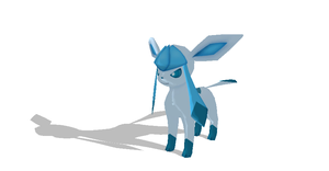 Glaceon + DL by Valforwing