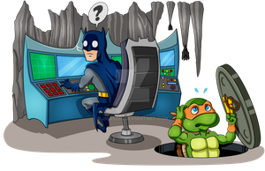 Invading the Batcave by jmascia