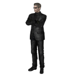 RE:UC Wesker T-A.L.O.S fully poseable by UndeadMentor