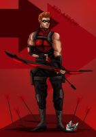 Red Arrow Young justice by ErgoAsch