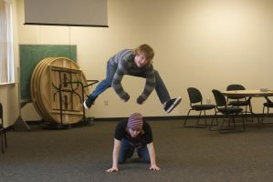 Leap Frog by VolpeTrickster