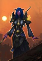 Nightelf Priest by doriefs