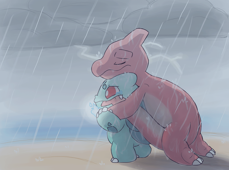 The Rain by LeoTheLionel