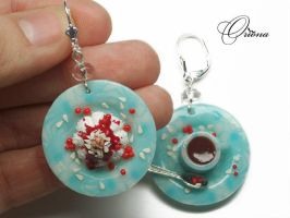 Cowberry dessert 1 by OrionaJewelry
