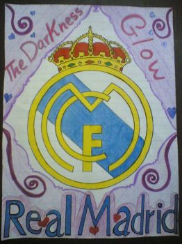 Real Madrid logo by TheDarkness-Glow