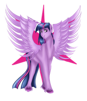 Princess Twilight by AnxiousShadowPetals