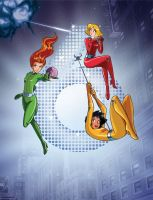 Totally Spies: from anime to Franime by EspioArtwork31