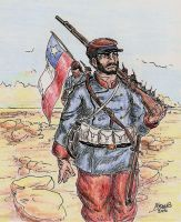 Chilean Infantry by Shabazik