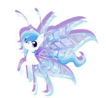 Art Trade: Frozen Wings by FuyusFox